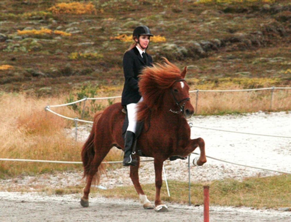 Sara frá Sauðárkróki og Inga